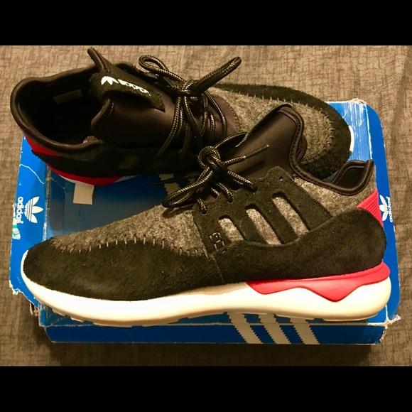 "42ff03ee56e49b Adidas Tubular Moc Runner ""Tomato"" colorway sz 12"